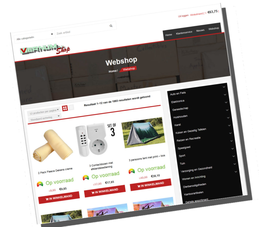 Vernum-shop.nl